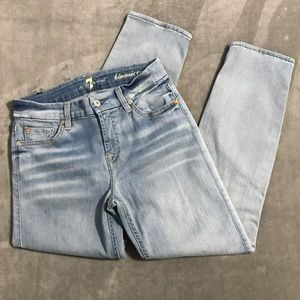 7 For All Mankind Kimmie Crop Jeans!